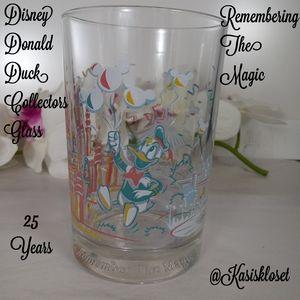 Disney Donald Duck Remember Magic Collectors Glass
